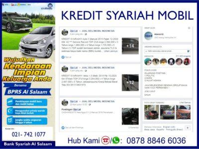 Stok Ready Mobil Bekas Siap Dibiayai Kredit Syariah AlSalaam