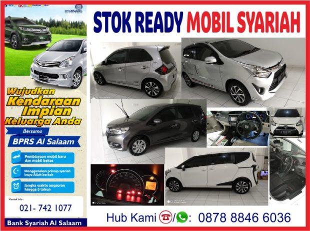 Stok Ready Kredit Syariah Mobil Bekas AlSalaam Masa Covid 19