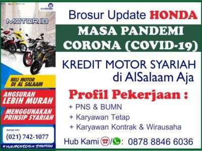 Angsuran Kredit Motor Syariah Alsalaam Honda Pandemi covid19