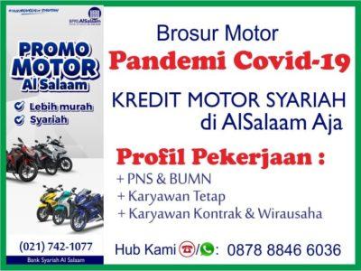 Simulasi Kredit Motor Syariah BPRS AlSalaam Dampak Covid 19