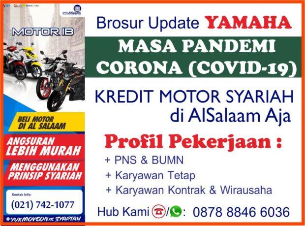 Cicilan Kredit Syariah Motor Yamaha Alsalaam Pandemi Covid19