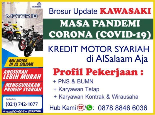 Tabel Kredit Motor Syariah AlSalaam Kawasaki Pandemi Covid19