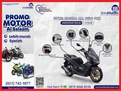 Kredit Honda PCX 2020 Syariah BPRS AlSalaam Banyak Diminati