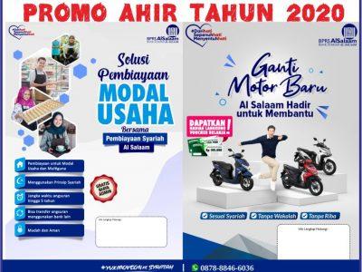 Promo BPRS AlSalaam Ahir Tahun Kredit Motor Mobil Multiguna