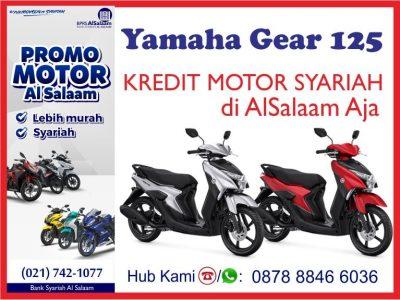 Kredit Motor Syariah Yamaha Gear 125 di BPRS Al Salaam