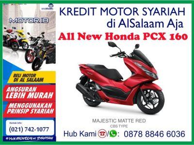Kredit Motor PCX Syariah BPRS Al Salaam Tanpa Riba